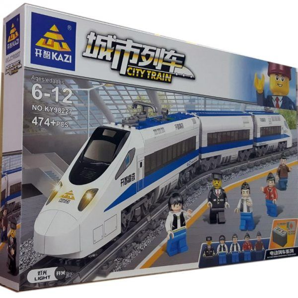 Конструктор Kazi 98227 «Швидкісний пасажирський поїзд»
