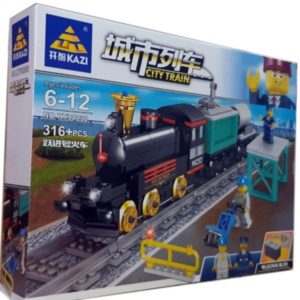 Конструктор Kazi 98232 «Грузовой поезд»
