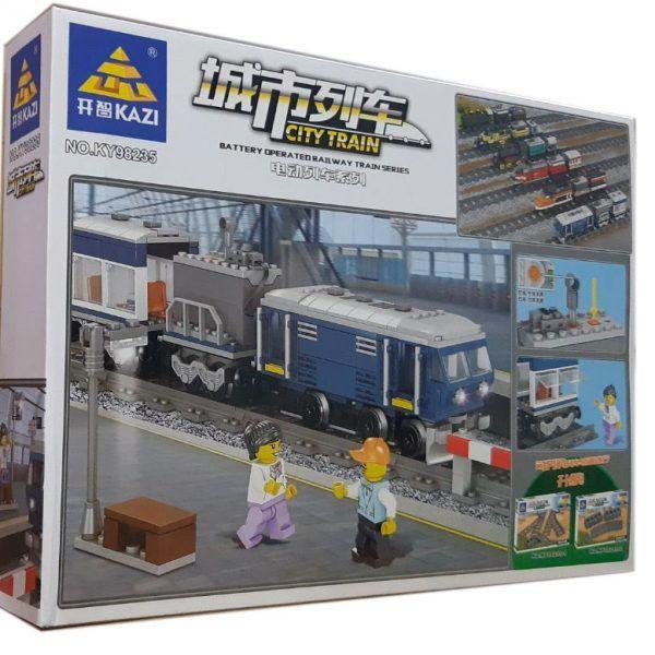 Конструктор Kazi 98235 «Пасажирський поїзд»