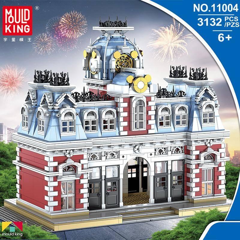 Конструктор MOULD KING 11004 Вокзал в Волшебной стране