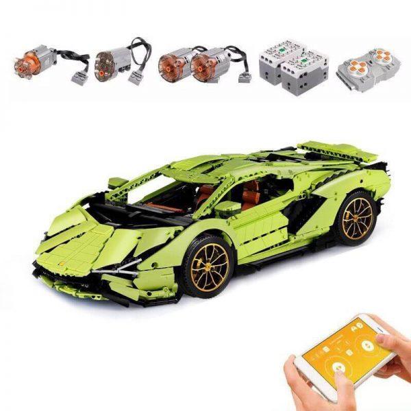 Конструктор MOULD KING 13057D  Lamborghini Sian Hyper FKP 37 з мотором