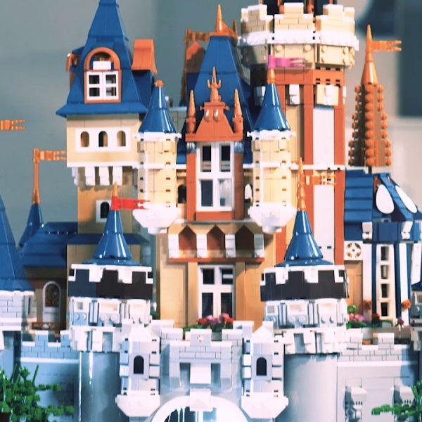 Конструктор MOULD KING 13132 Замок в Диснее