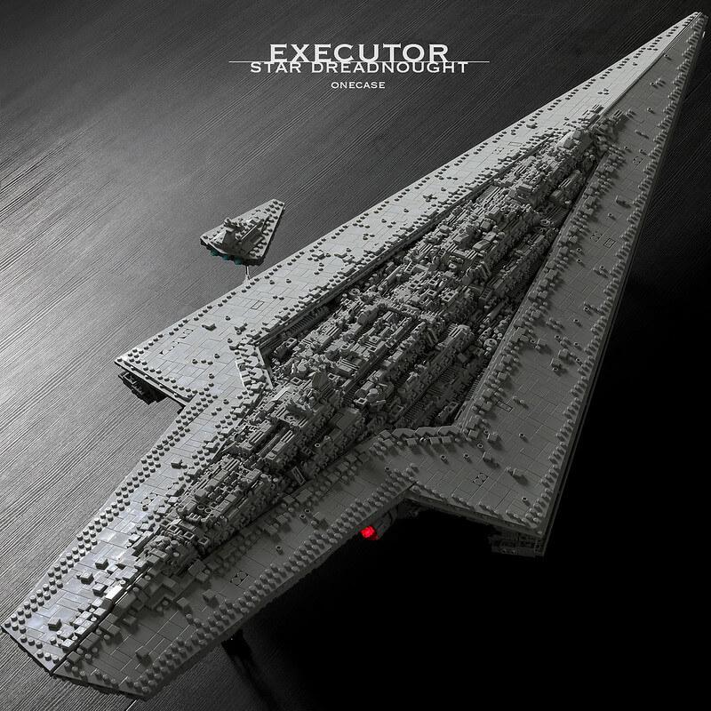 Конструктор MOULD KING 13134 «Executor» (Зоряний суперруйнівник Екзекутор)