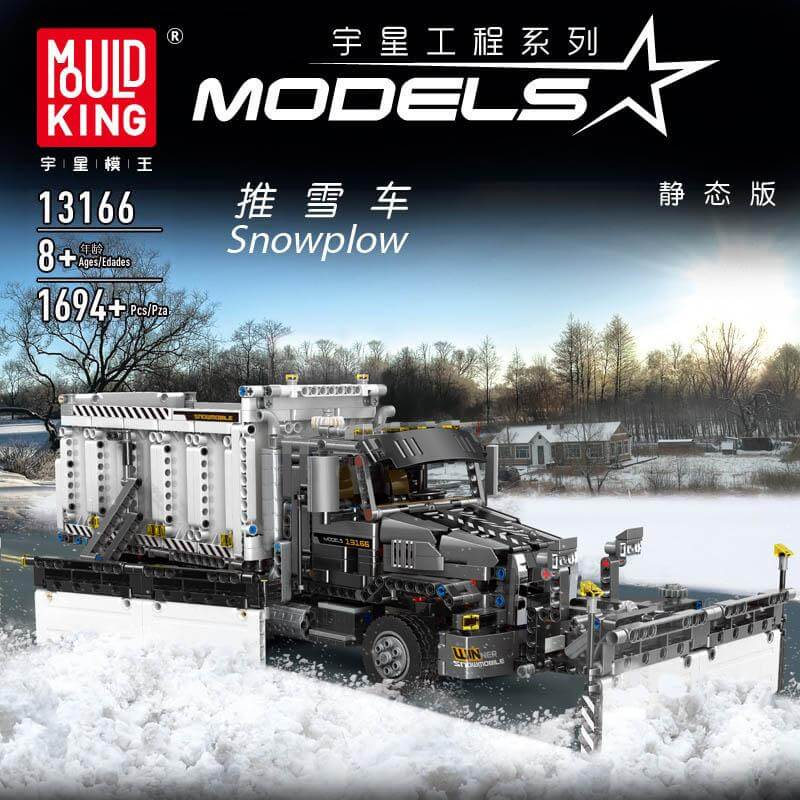 Конструктор MOULD KING 13166 Снігоприбиральний вантажний автомобіль