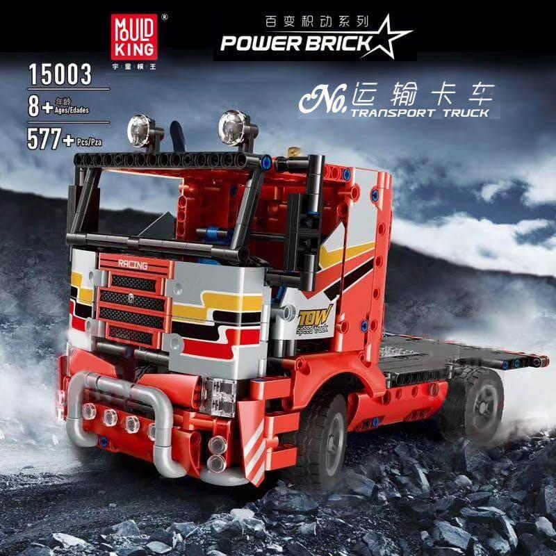 Конструктор MOULD KING 15003 Транспортний вантажний автомобіль з ДУ