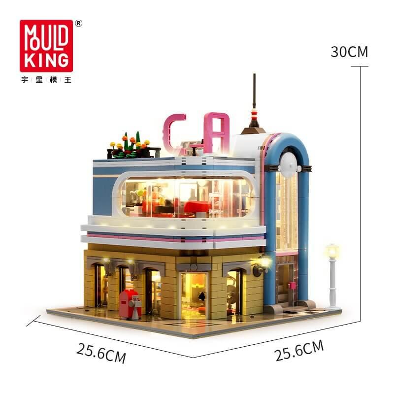 Конструктор MOULD KING 16001 MOULD KING Ресторан «Каліфорнія», 2013 дет., 8+