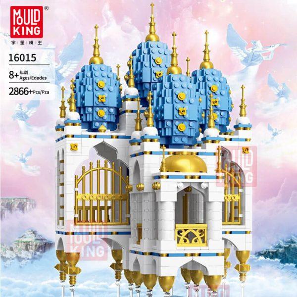 Конструктор MOULD KING 16015 Замок, парящий в небе