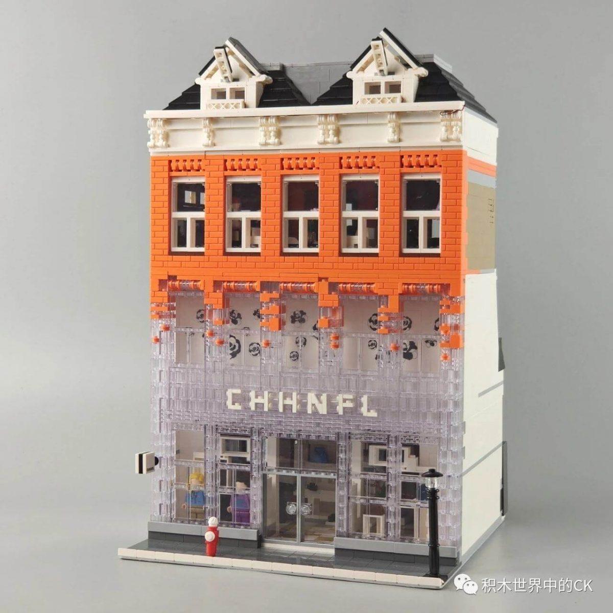 Конструктор MOULD KING 16021 Магазин Chanel в Амстердаме