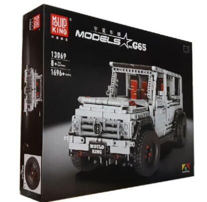 "Конструктор ""Джип Мерседес-Бенц Гелендваген G65"" MOULD KING 13069"