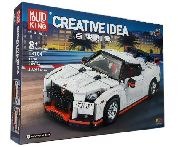 Конструктор MOULD KING Creative Idea 13104 «Спортивный автомобиль «Nissan»