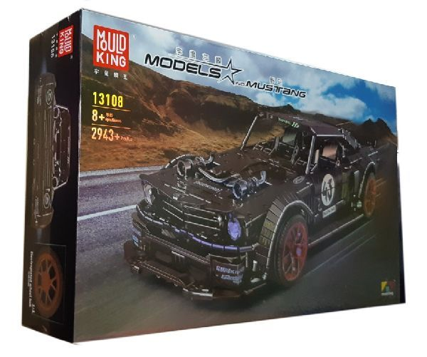 Конструктор MOULD KING 13108 «Ford Mustang Hoonicorn RTR V2 RC APP»