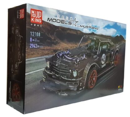 "Конструктор ""Форд Мустанг ""Ford Mustang Hoonicorn RTR V2 RC APP"" MOULD KING 13108"