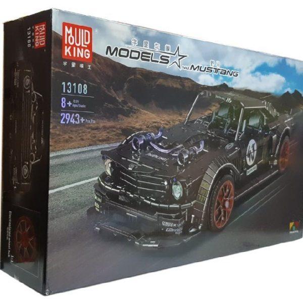 Конструктор MOULD KING 13108N «Ford Mustang» на дистанционном управлении
