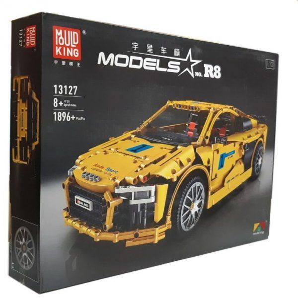 Конструктор MOULD KING 13127 Спортивний автомобіль Audi R8 V10