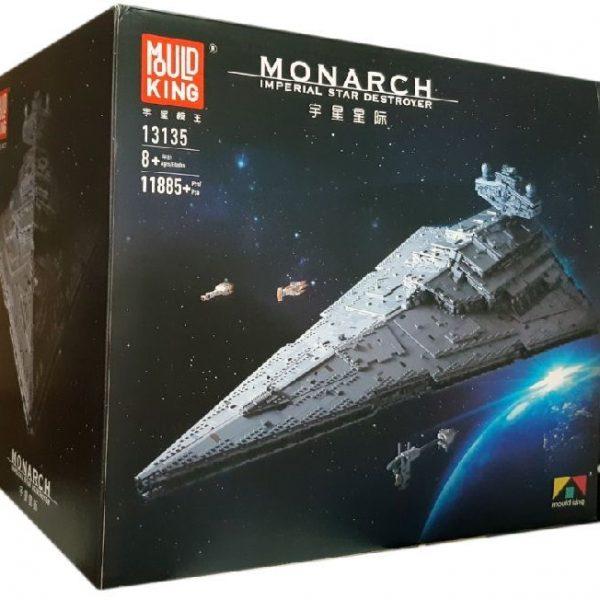 """Конструктор Mould King Star Wars 13135 """"Імперський зоряний руйнівник Монарх"""""""