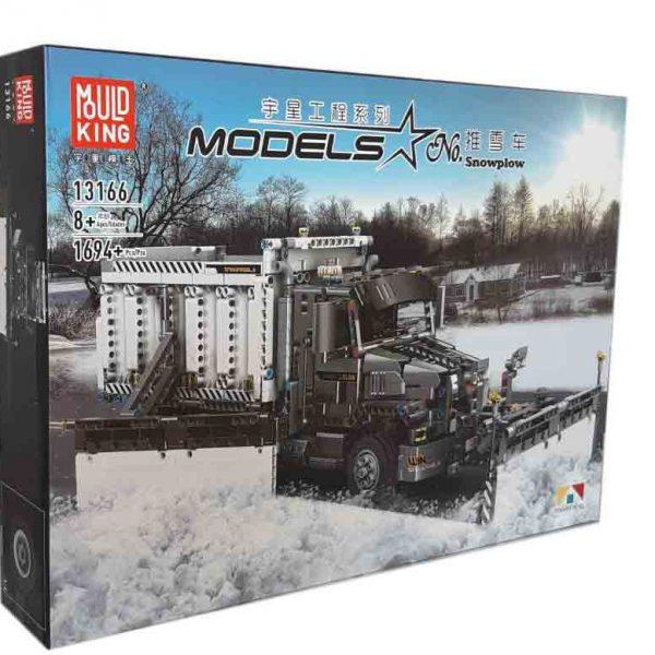 Конструктор MOULD KING 13166 Снегоуборочный грузовик
