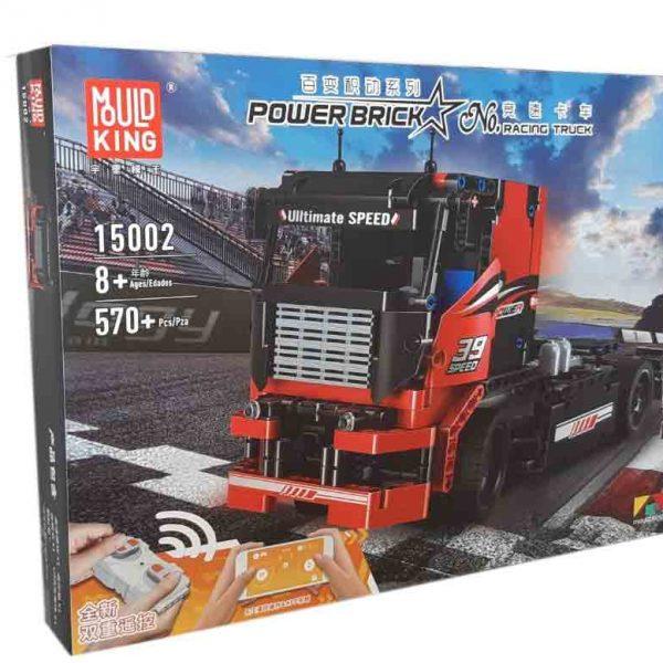 Конструктор MOULD KING 15002 The Red Racing Truck Гоночний вантажний автомобіль з ДУ