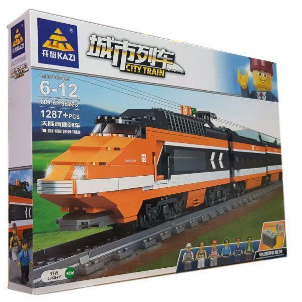 Конструктор Kazi 98223 «Пасажирський поїзд»