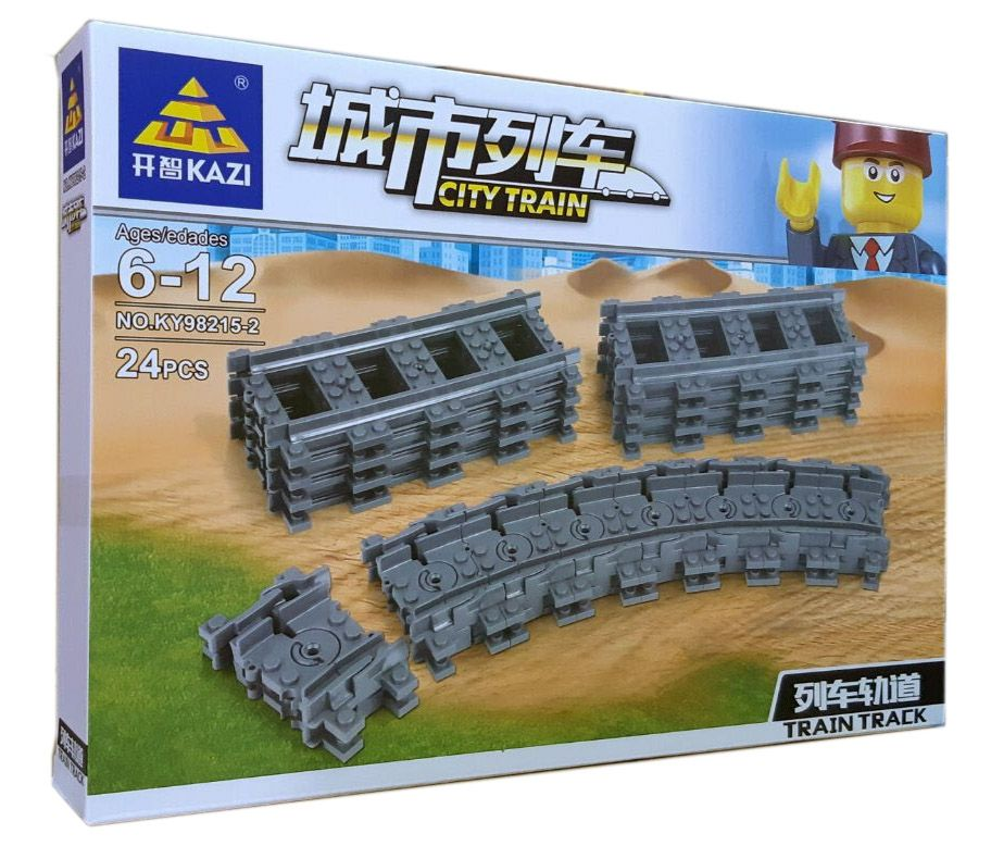 Конструктор Kazi 98215-2 «Гнучкі рельси для поїздів»