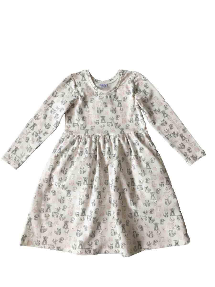 Сукня з довгим рукавом для дівчинки