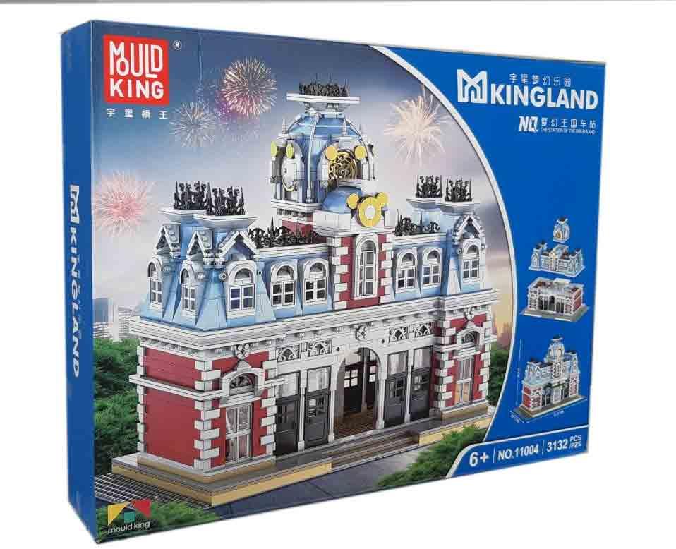 Конструктор MOULD KING 11004 Вокзал у чарівній країні