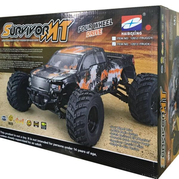 HAIBOXING 12813 Off-roadTruck Внедорожник RockClimber RTR RC Car 2,4 ГГц 4WD