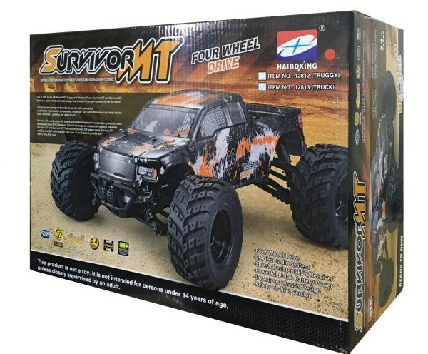 HAIBOXING 12813 Off-road Truck Позашляховик Rock Climber RTR RC Car 2,4 ГГц 4WD