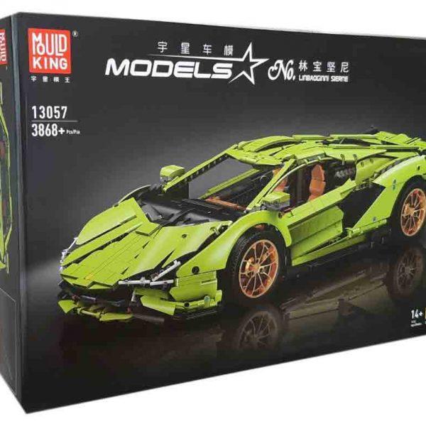 Конструктор MOULD KING 13057D  Lamborghini Sian Hyper FKP 37 с мотором