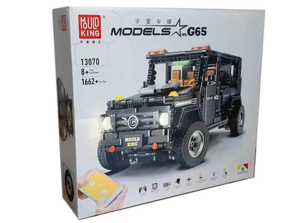 Конструктор MOULD KING 13070 Mercedes-benz Gelandewagen с мотором