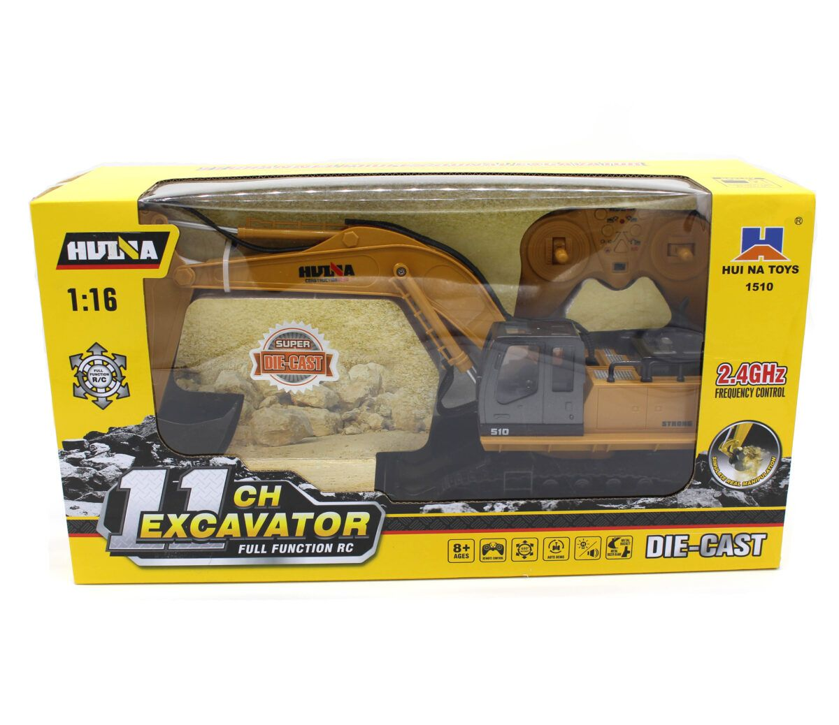 Huina 1510 RC Екскаватор на радіоуправленнні