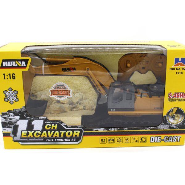 Huina 1510  RC Экскаватор на радиоуправлении