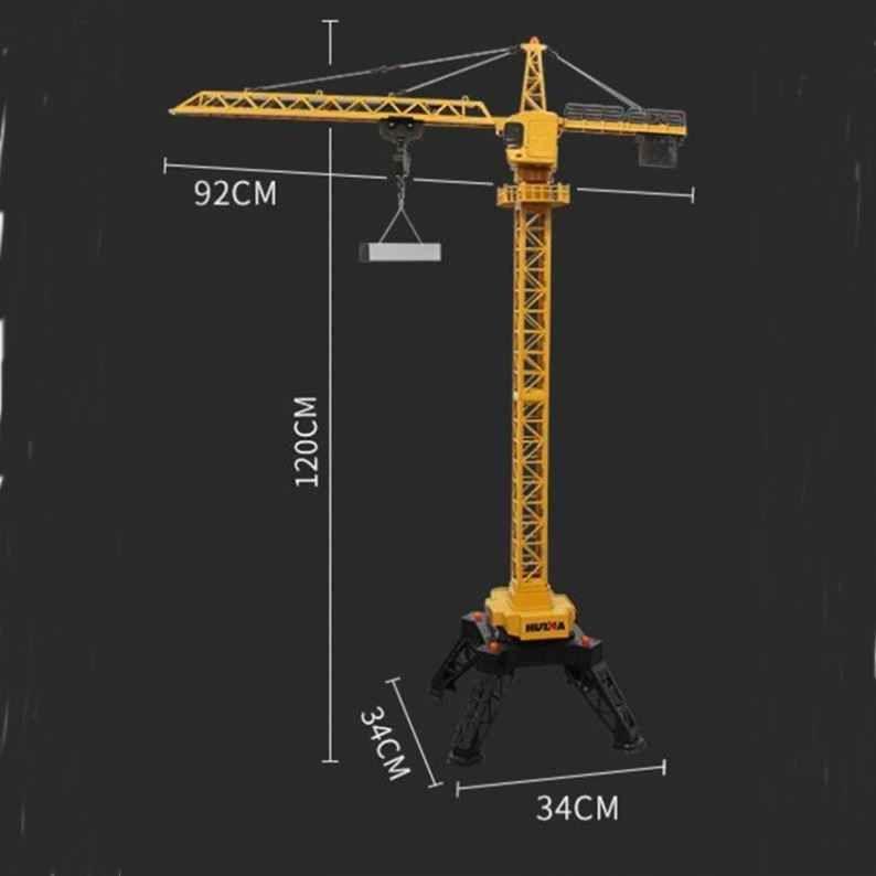 Huina 1585 Башенный кран на радиоуправлении RC