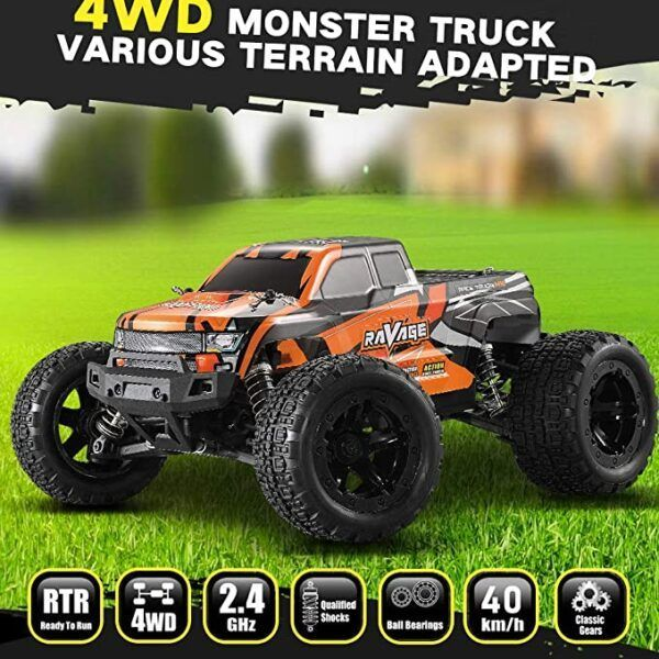 HAIBOXING 16889 Внедорожник Brushless MonsterTruck RC Car RTR