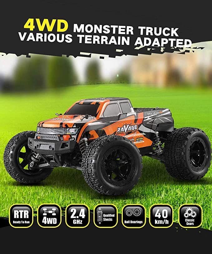 HAIBOXING 16889 Позашляховик Brushless MonsterTruck RC Car RTR