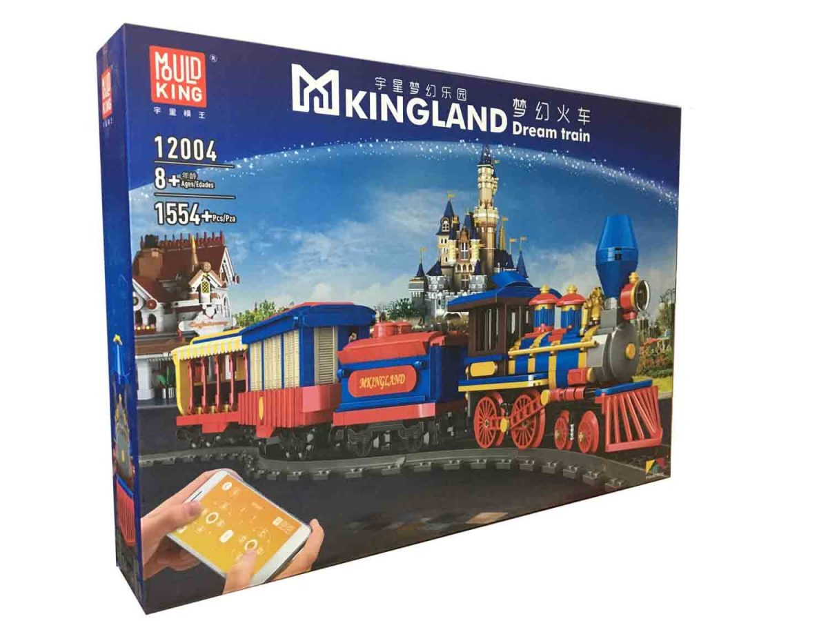 Конструктор MOULD KING 12004 «Dream Train»