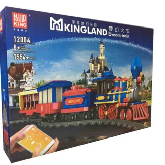 Конструктор детский Mould King 12004 Поїзд мрії