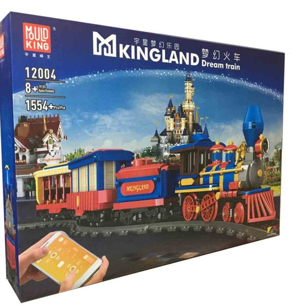 Конструктор MOULD KING 12004 «Dream Train»