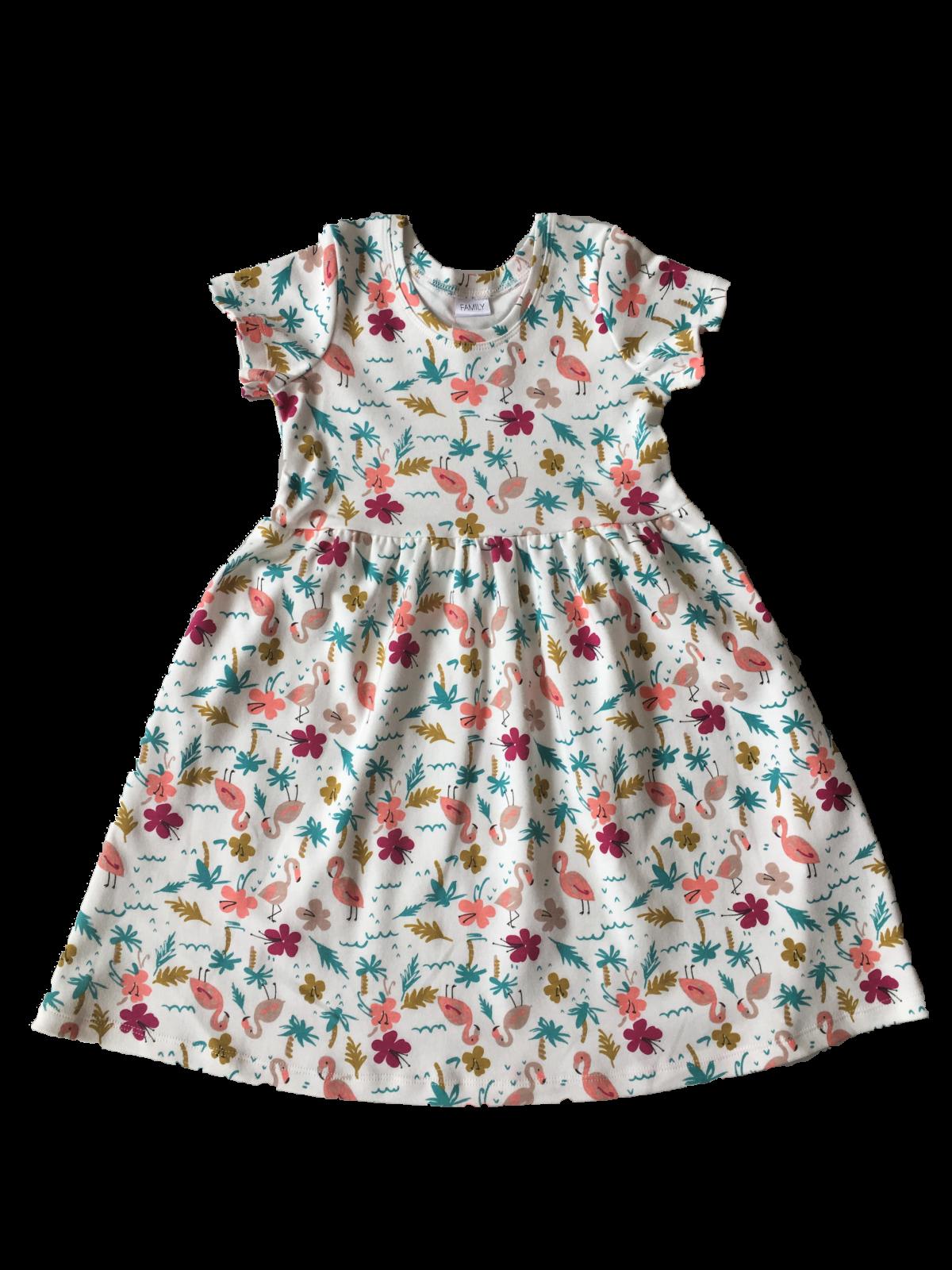 Сукня з коротким рукавом для дівчинки