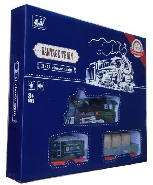 Дитяча залізниця HUASTAR 50239, на батарейках, 11 деталей, світло, звук
