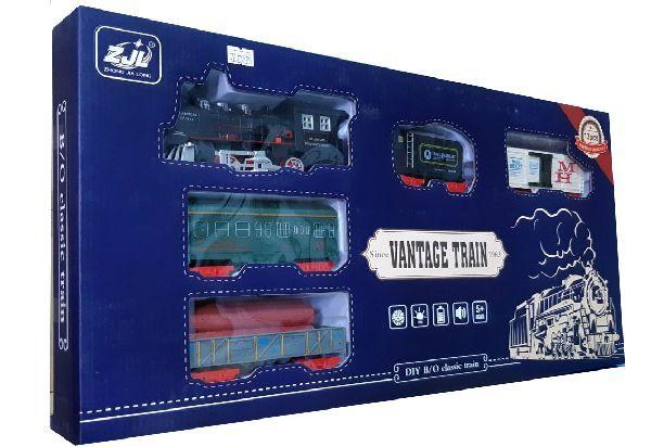 Залізниця для дітей HUASTAR 50293, на батарейках, свет, звук