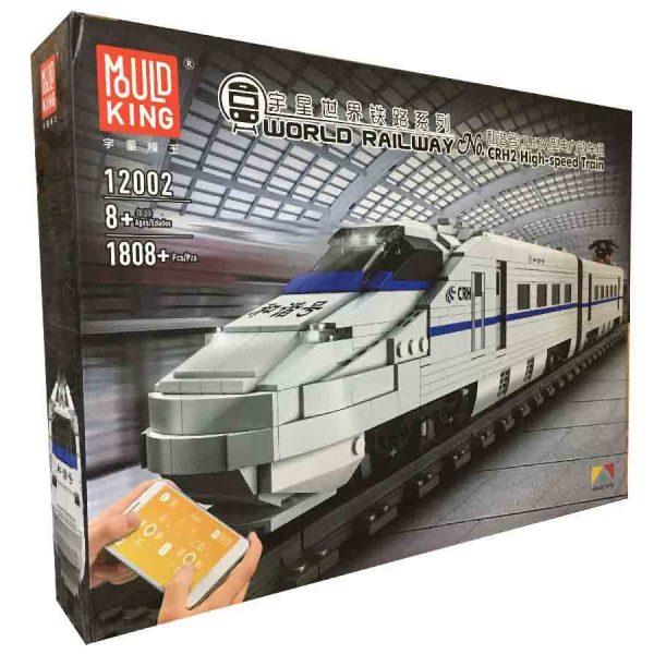 Конструктор MOULD KING 12002 «Высокоскоростной поезд CRH2»