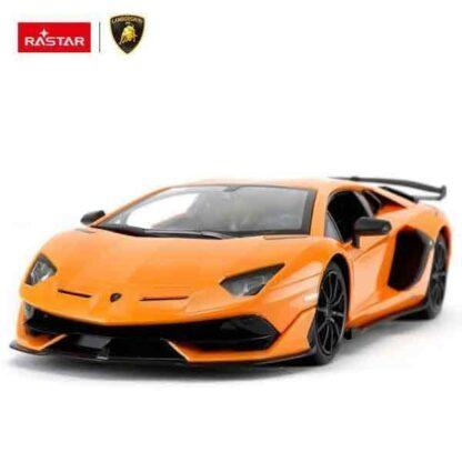 """Радиоуправляемая машинка """"Lamborghini Aventador SVJ"""" Rastar 96000"""