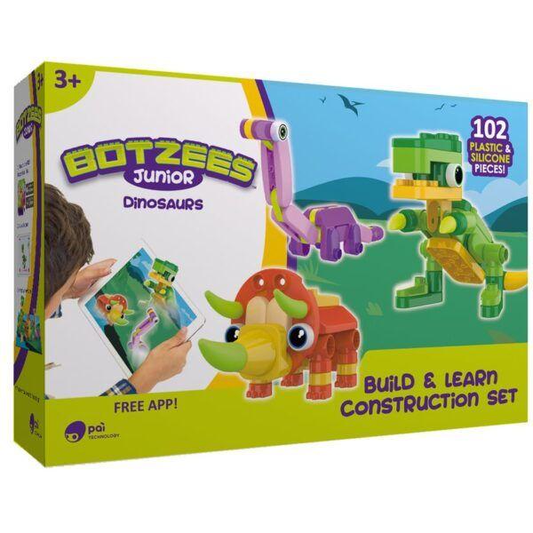 """Розвиваючі конструктори """"Botzees Дінозаври"""" 18003"""