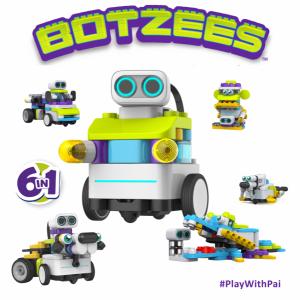 Botzees навчальний конструктор з STEM технологією