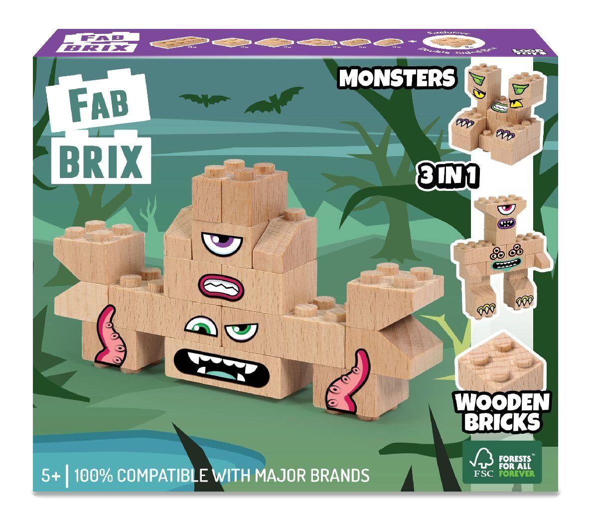 Конструктор FabBRIX JG 1803 Monster Pack (Монстри)