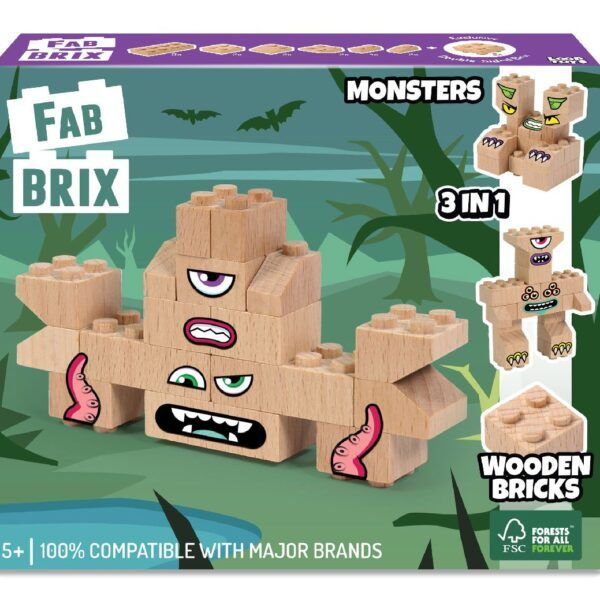 Конструктор FabBRIX JG 1803 Monster Pack (Монстри)