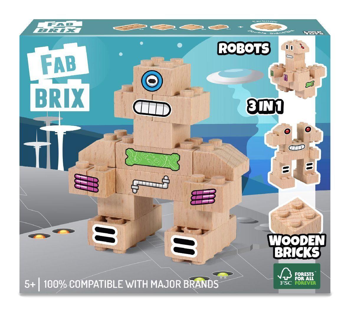Конструктор FabBRIX JG 1805 Robots (Роботы)