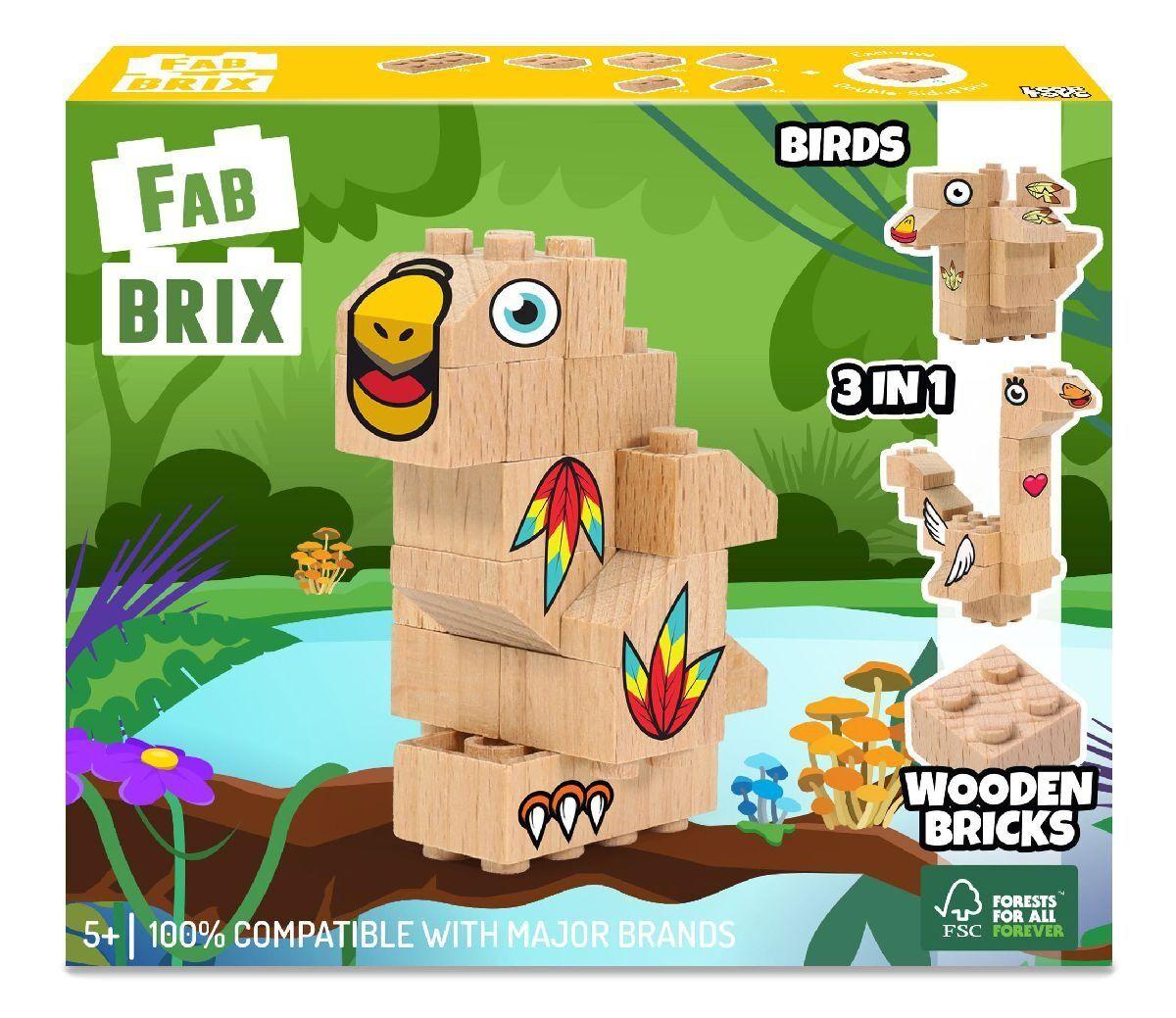 Конструктор FabBRIX JG 1806 Birds (Птахи)