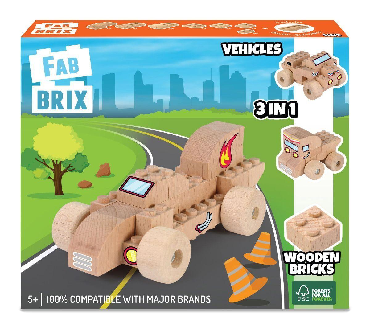 Конструктор FabBRIX JG 1808 Vehicles (Автомобілі)