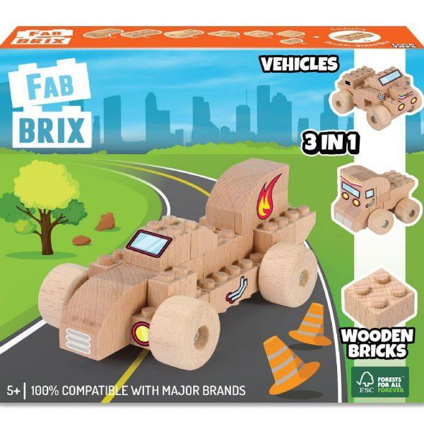 Конструктор FabBRIX JG 1808 Vehicles (Автомобили)